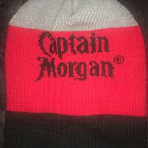 Captain Morgan beanie slouch hat